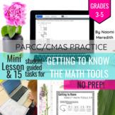 Math PARCC Practice Scavenger Hunt, Grades 3-5