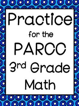 Math PARRC Practice for third grade