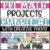 PBL Math Enrichment Projects - Math & Writing Bundle #1