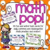 Math POP!  Active Task Cards for Common Core Kindergarten