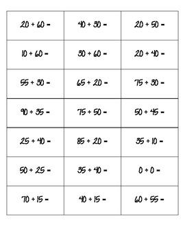 Math POP!  Adding by multiples of ten