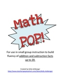 Math POP!  Adding up to 20