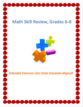 Math Packet - Mixed Review (Grades 6, 7, 8)