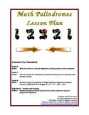 Math Palindromes Lesson Plan