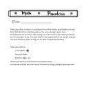Math Panaderia- Measurement Conversions Activity