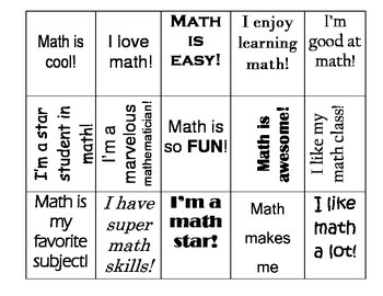 Math Participation Tickets (classroom management and engagement )