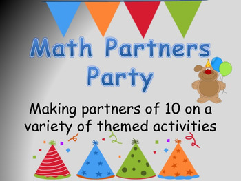Math Partners Party for Partners of 10
