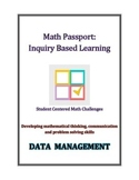 Math Passport- Inquiry Based Math- Student Centered Math C