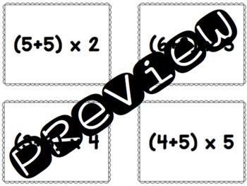 Math Passwords - Add, Then Multiply