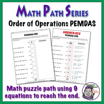 Math Path - Order of Operations - PEMDAS Complete