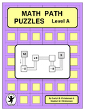 Math Path Puzzles Level A