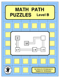 Math Path Puzzles Level B