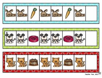 Patterns Math Centers Kindergarten & Preschool | Math Centers Kindergarten