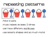 Math Pattern Posters