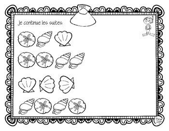 Math Patterning ~ French