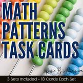 Math Patterns Task Cards