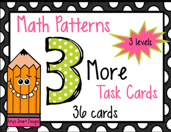 Math Patterns Task Cards