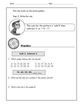 Math - Patterns: Tutorial and Practice with Examples