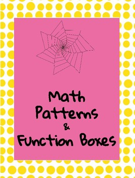 Math Patterns and Function Boxes