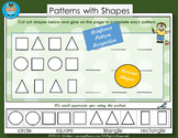 Math:  Patterns with Shapes