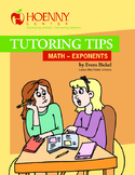 Math Peer Tutoring Tips--Exponents