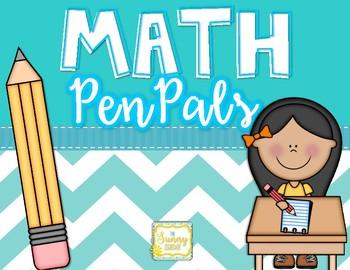 Math Pen Pals--Freebie!