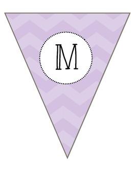 Math Pendant Banner