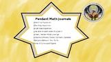 Math Pendants for Math Journals