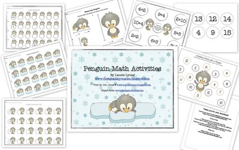 Math: Penguin Activities