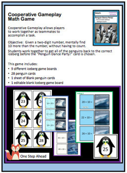 Math - Penguin Dance Party - Cooperative Gameplay Game