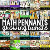 Math Pennants Bundle