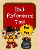 Math Performance Task {Fall Fair}