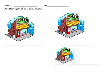 Math Performance Task: Pet Shop