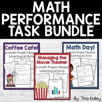 Math Performance Tasks - SBAC - Fourth Grade