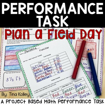 Math Performance Task  Test Prep Fifth Grade