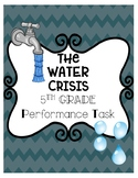 Math Performance Task: The Water Crisis (CCSS Aligned)