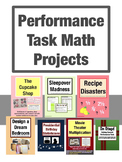 Math Performance Tasks Complete Bundle