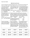 Math Performance Tasks -Money Focus