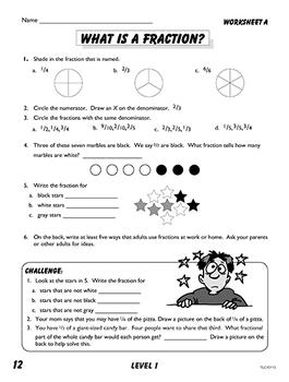 Math Phonics Fractions