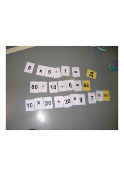 Math/Physical Education Game, Warm-up, Interdisciplinary, Fun and Active