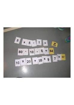 Math/Physical Education Game, Warm-up, Interdisciplinary, Fun and Active