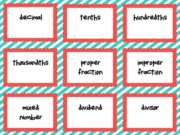 Math Pictionary: A Fun Way to Review Math Vocabulary PERFECT FOR GRADES 4-6