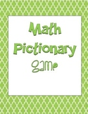 Math Pictionary Game