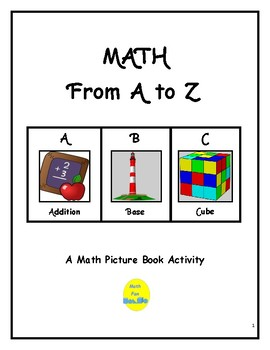 Math Picture Book: Math from A to Z