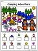 Math Picture Mat: Addition and Subtraction Activity {Camping}