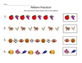 Math Picture Patterns