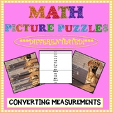 Math Picture Puzzle Games: Converting Measurements