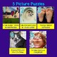 Math Picture Puzzle Games: Dividing Fractions