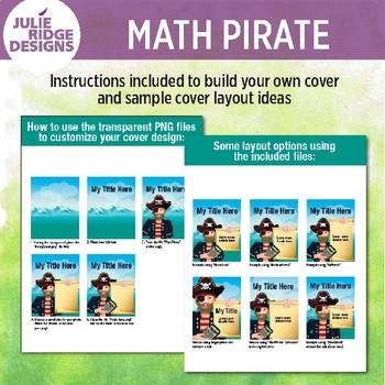 Math Pirate Clip Art Set