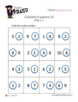 Math Pirates!: A Timed Math Fact Program - Kindergarten COMMON CORE ALIGNED!